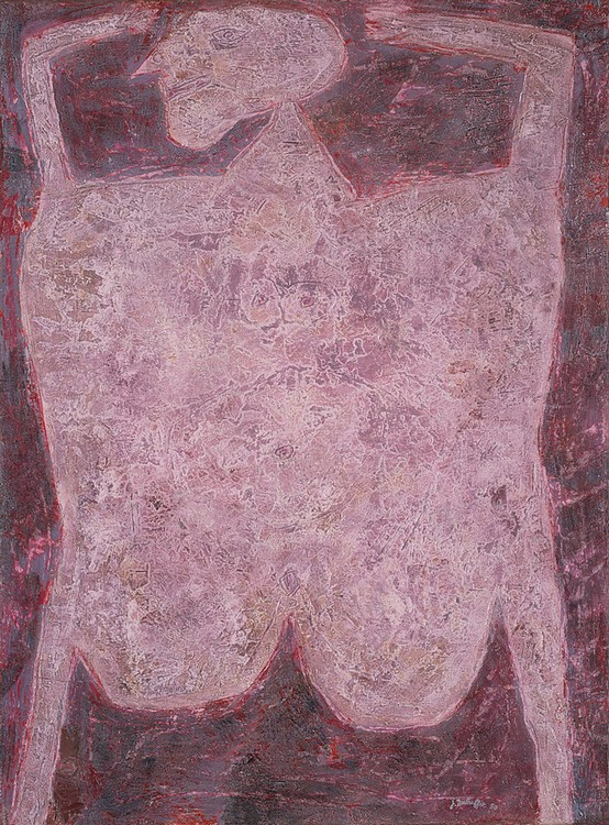 Jean Dubuffet, Triumph and Glory (1950), oil on canvas