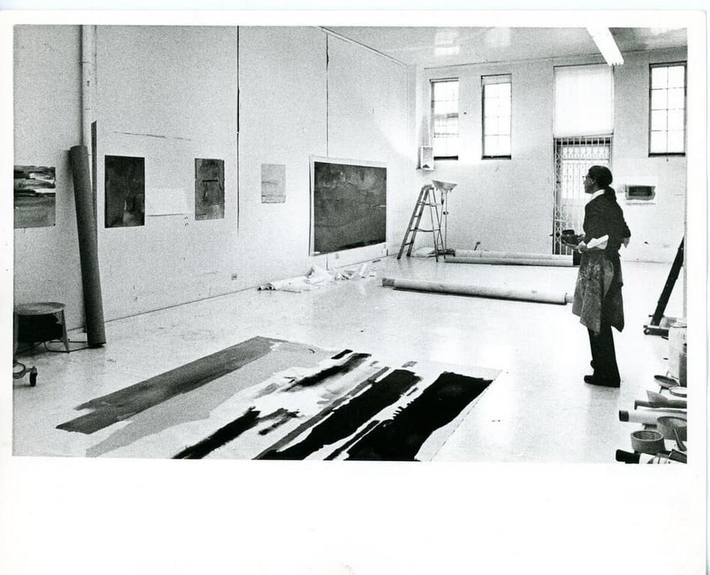 Helen Frankenthaler on East 83rd Street in New York