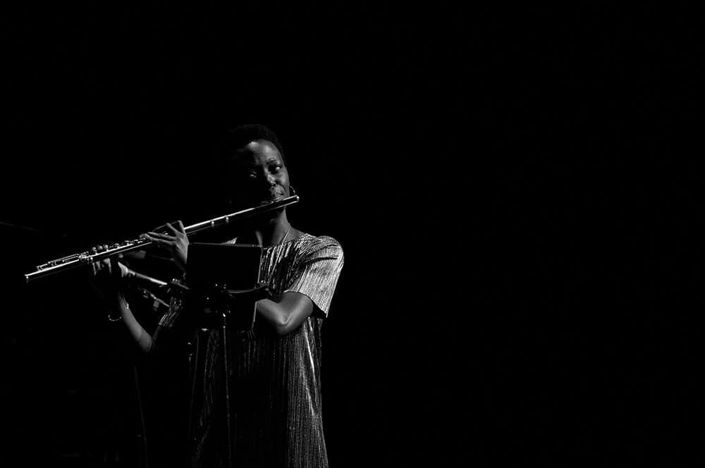 Eighth Blackbird flutist Natalie Joachim