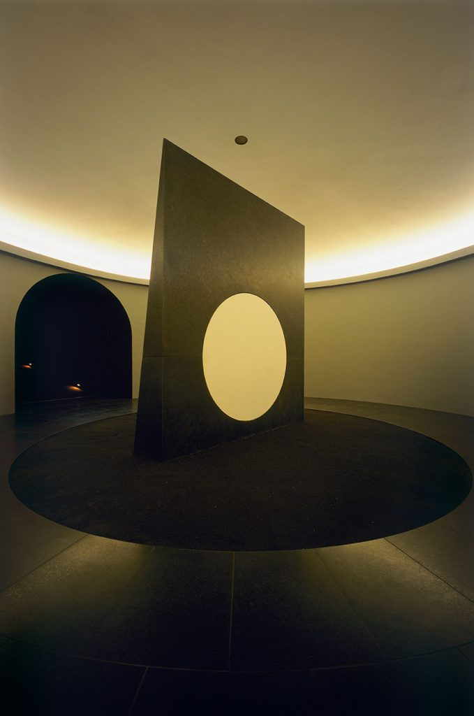 James Turrell, Sun and Moon Chamber from the Roden Crater