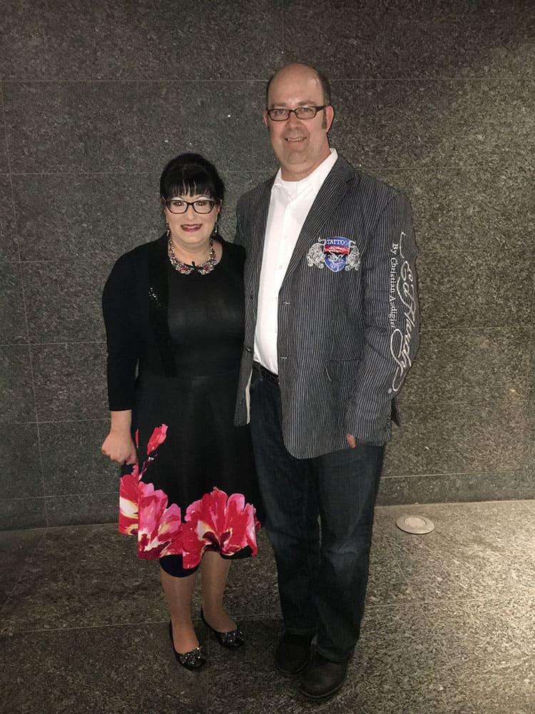 Laura Vranes and John McIntyre