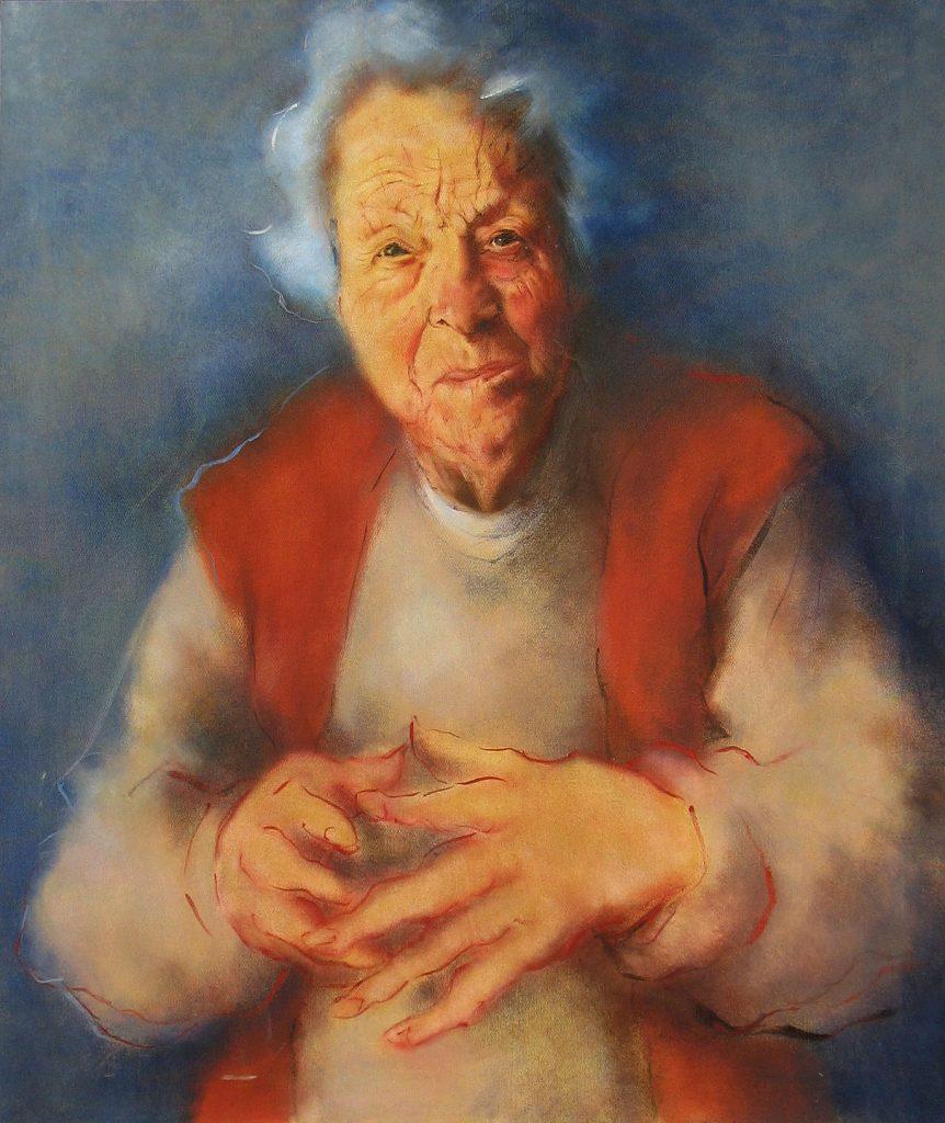 La Catalane (Maman José), 1997-98, oil on canvas dimensions unknown