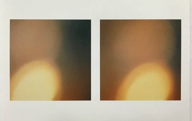 Illuminations #19 and #20 (2000), C-prints, each 4 by 4 inches