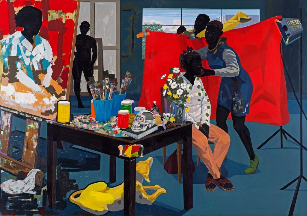 Kerry James Marshall, Untitled (Studio), 2014