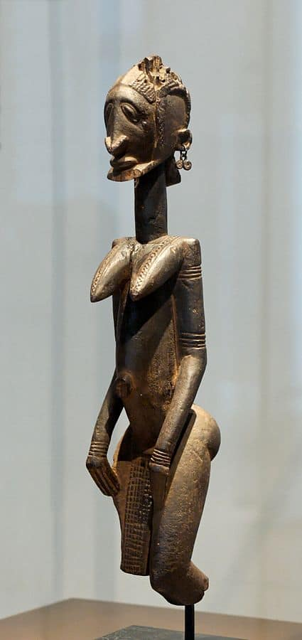 Adman Lester Wunderman acquired a first-class collection of Dogon sculpture, like this one by the Master of the Slanted Eyes