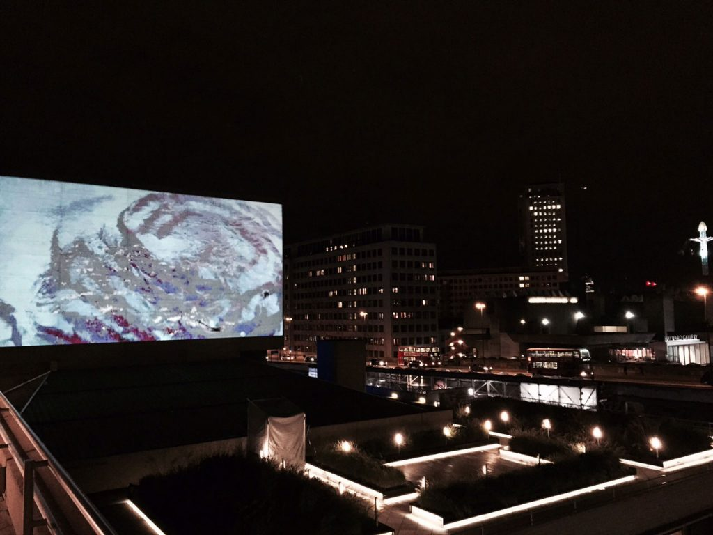 Anita Glesta, Watershed (2015) video channel, National Theatre, London, Totally Thames Festival