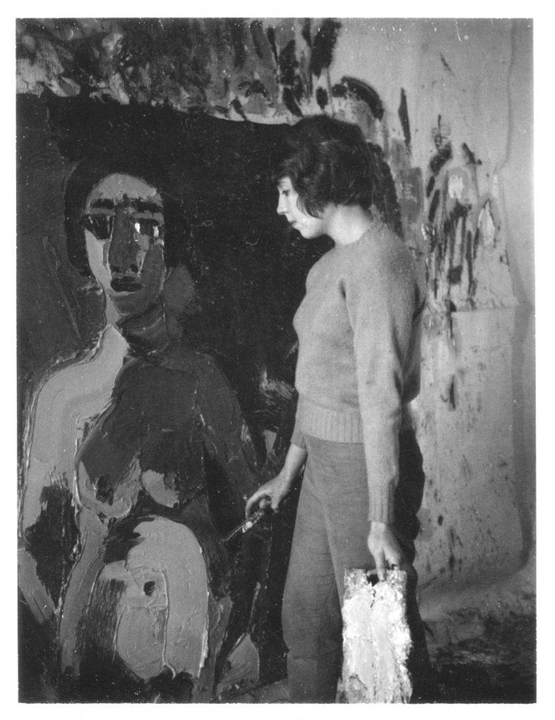 Joan Brown, 1962