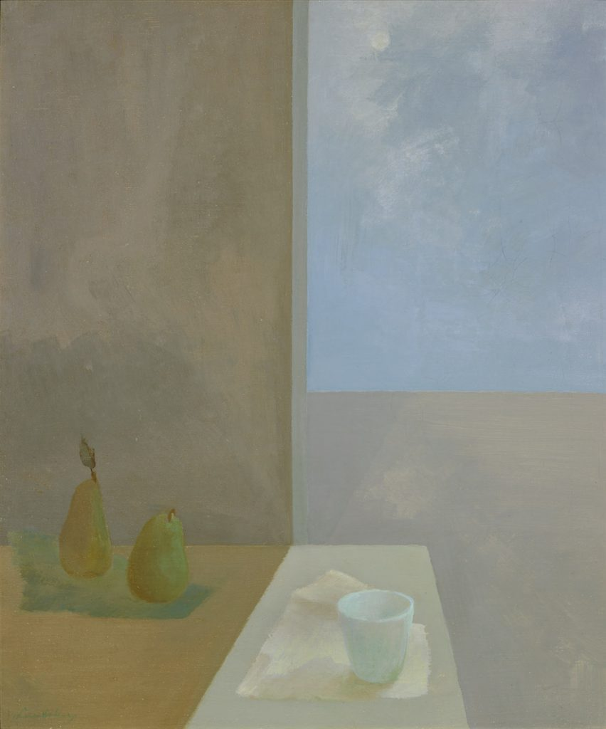 Winter Sun (1949), oil on canvas, 24 by 20 inches