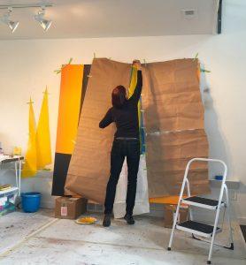 Kate Petley in her Longmont, CO, studio
