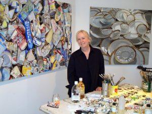 Leslie Parke at work