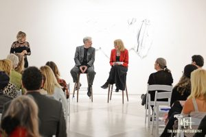 Donald Martiny and Ann Landi in conversation, late February