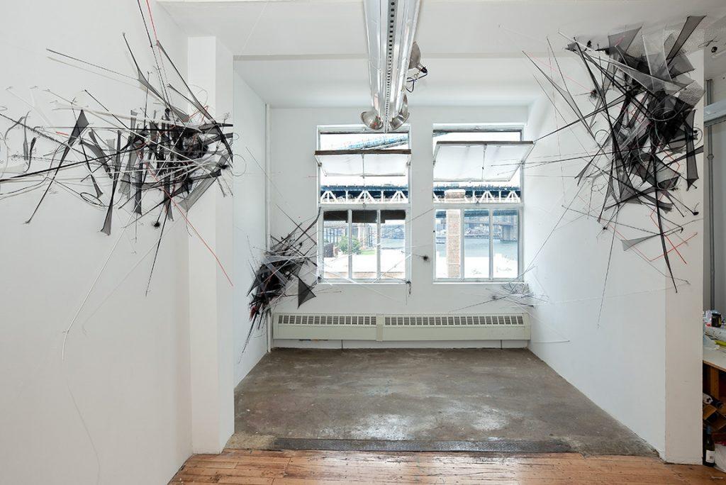 The Naked City (2011), mixed media, dimensions variable. Marie Walsh Sharpe Foundation, Brooklyn, NY