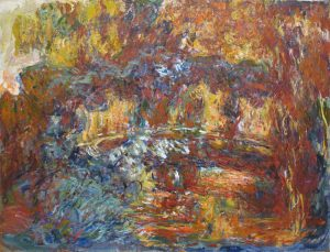 Clement Greenberg at first dismissed the late works of Claude Monet