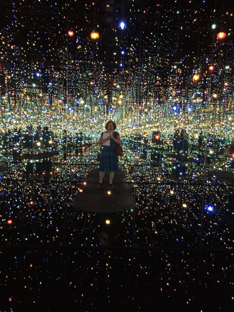 Kino meets Kusama in the Infinity Mirrored Room