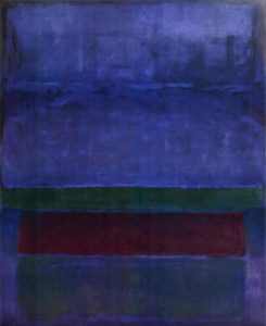 Mark Rothko's Blue, Green and Brown (1952)