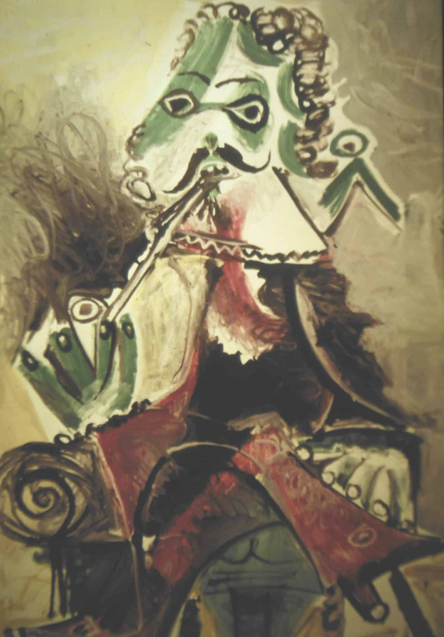 Many critics were skeptical about Picasso's late period