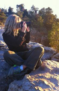 Deonne Kahler in the wild