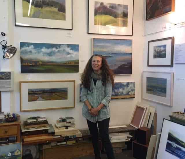 Wendy Goldberg on the Marin County open-studios tour