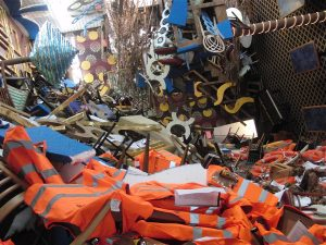 Part of Thomas Hirschhorn's Concordia, Concordia (2012)