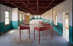 An installation by Ilya and Emilia Kabakov in Marfa, TX