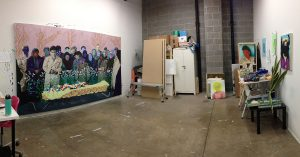 Daisy Patton's studio at RedLine