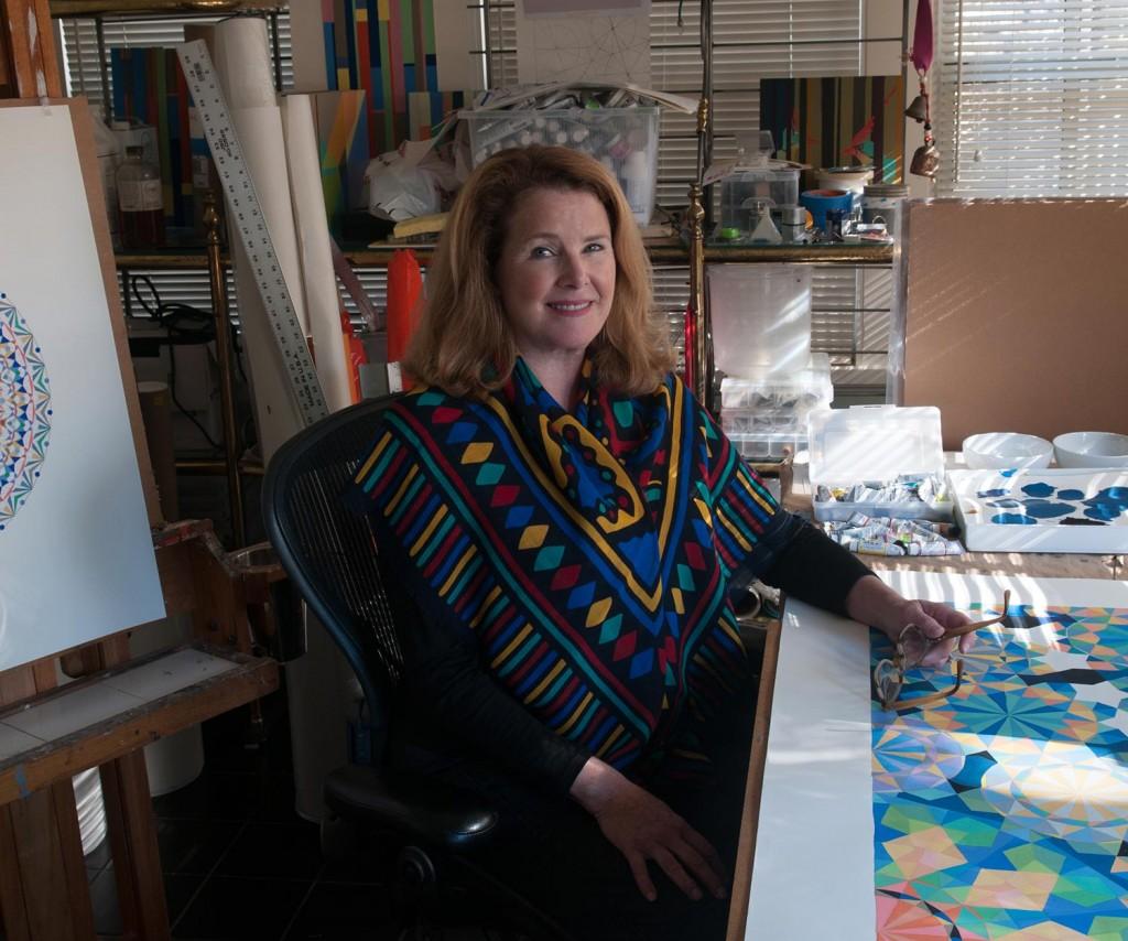 Susan Barnett in her Dallas studio.