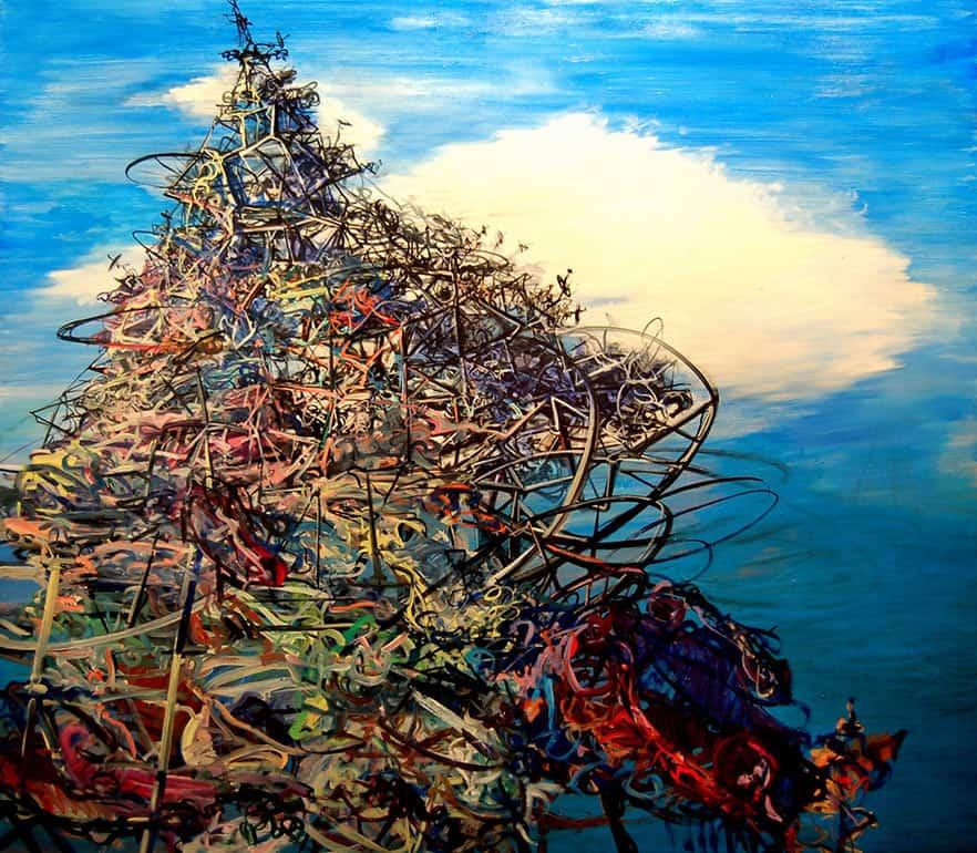 Deborah_Brown_image7_Slag_2013_oil_on-canvas-_70-x80inches
