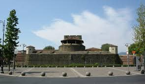 The Fortezza da Basso in Florence, which encompasses three exhibition pavilions