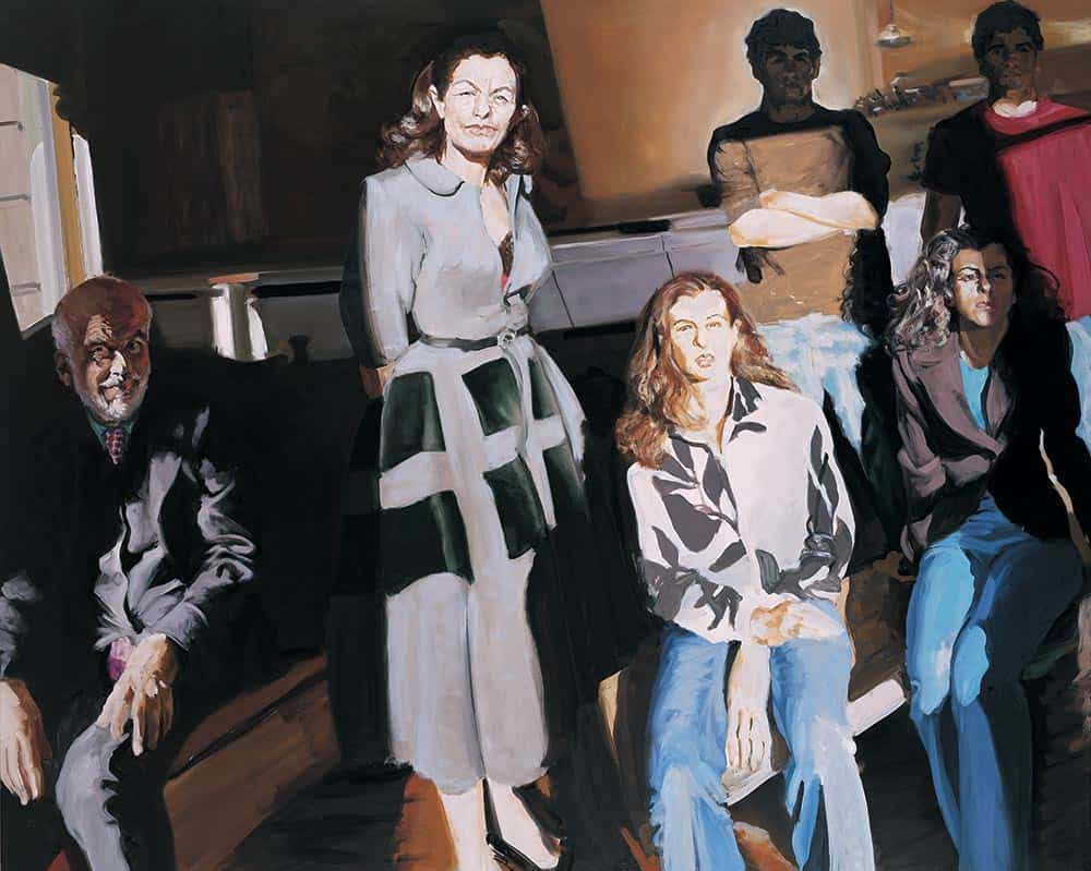 The Clemente Family (2005), painter Eric Fischl