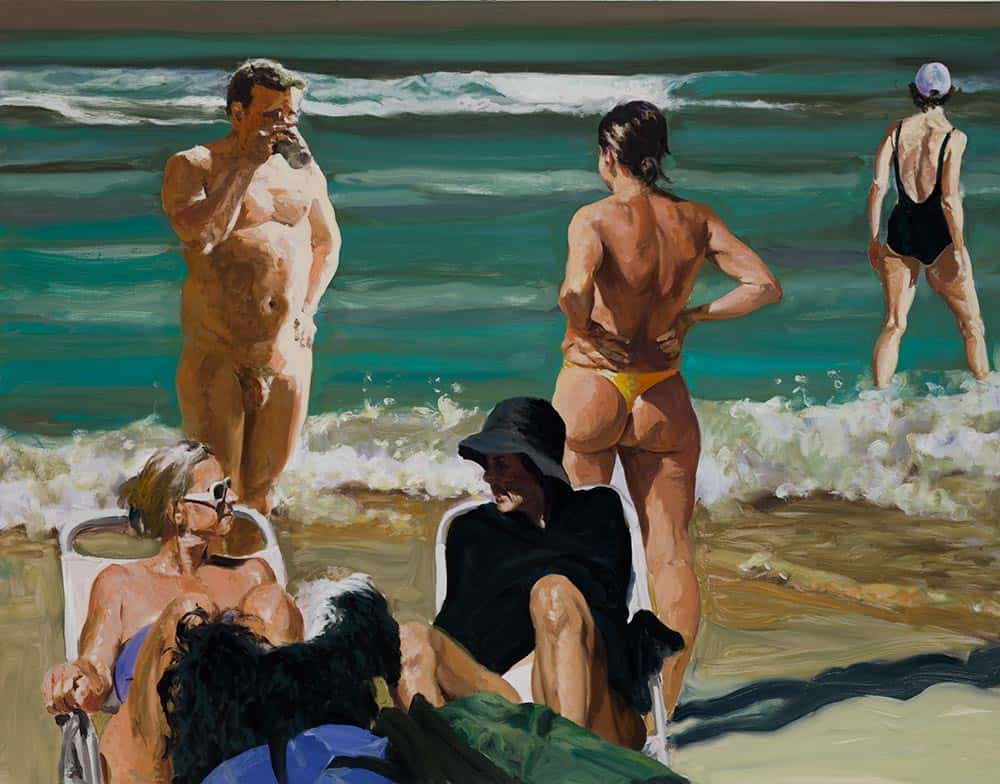 Scenes from Late Paradise: The Drink, painter Eric Fischl