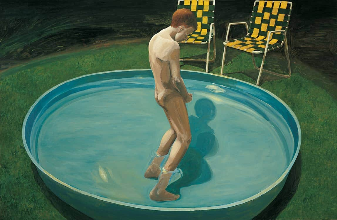 Sleepwalker, painter Eric Fischl