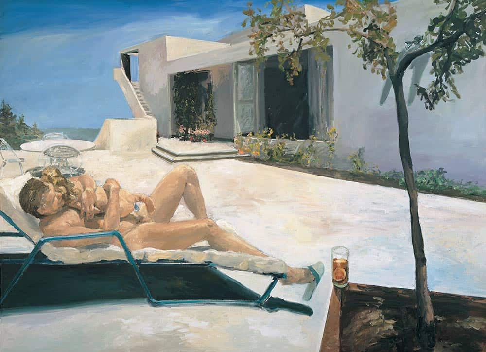 Daddy's Girl, painter Eric Fischl