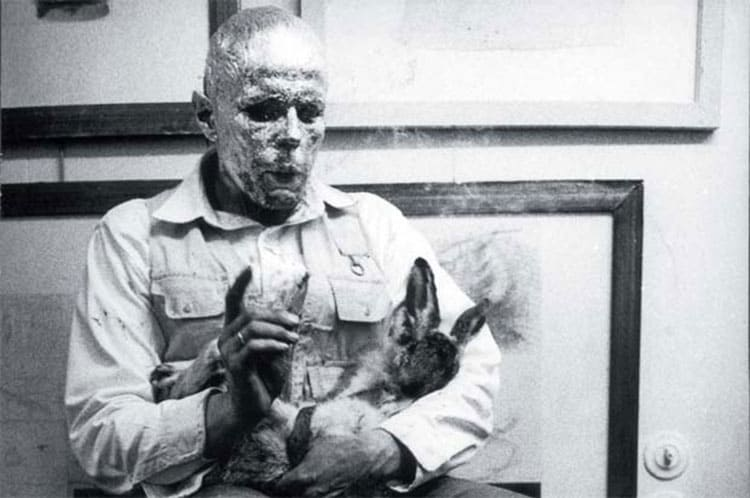 Was Joseph Beuys really rescued by nomads?