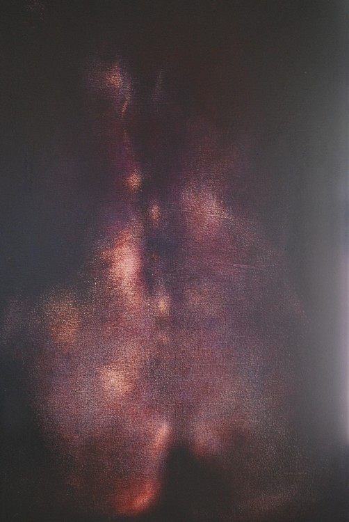 Torso #5 (2004), oil on canvas, 36 by 48 inches