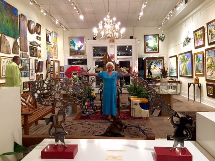 Nance Frank of Gallery on Greene in Key West advises doing an interview of your own.