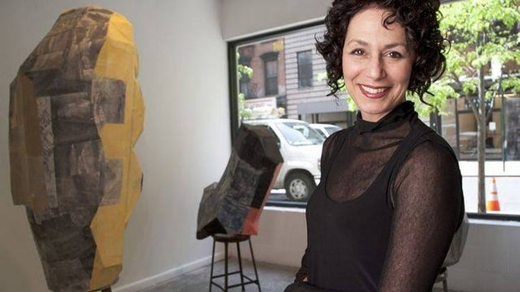 "Lesley Heller believes part of her job is ""to build artists' careers."""