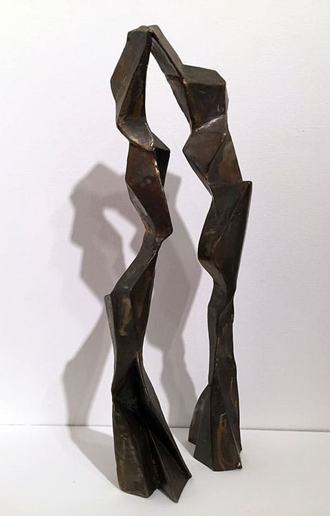 Rosemarie-Castoro-Arch-Angle-II-1993-welded-stainless-steel-torched