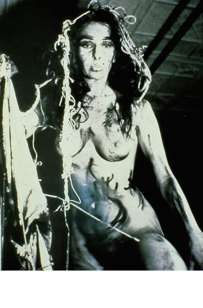 Carolee-Schneemann,-Eye-Body,-1963