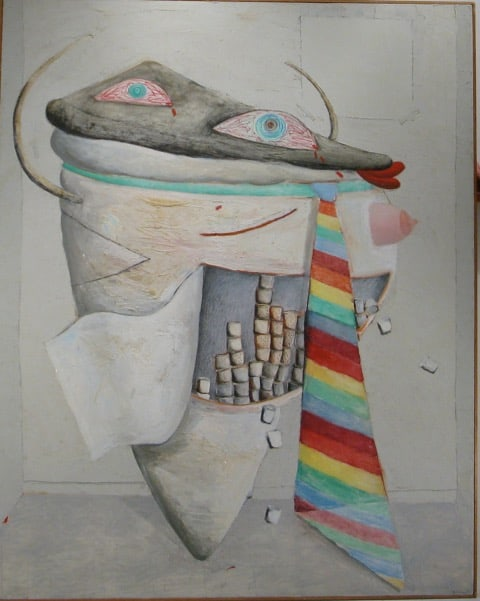 Brenda Goodman, Self-Portrait I,