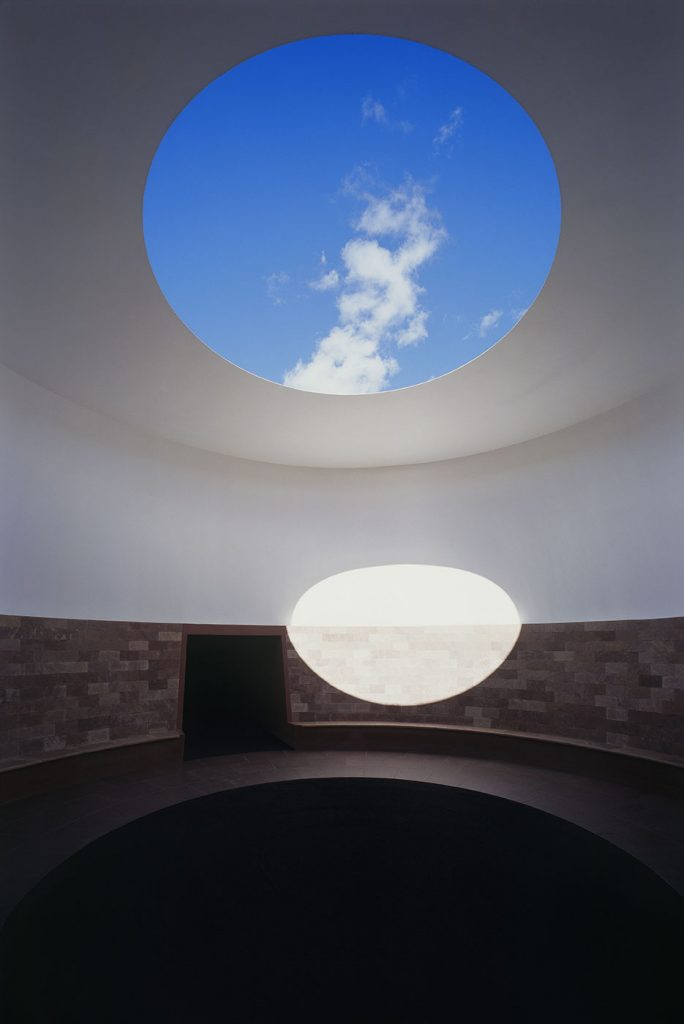 James Turrell, Alpha Tunnel from the Roden Crater