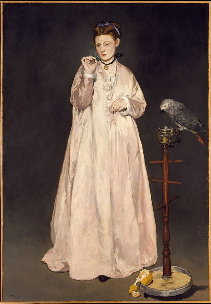 Edouard Manet, Young Lady in 1866 (1866)