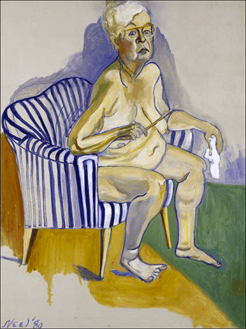 Alice Neel's unsparing late-life likeness