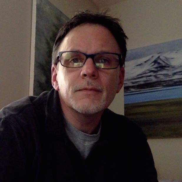 Artist Peter Roux