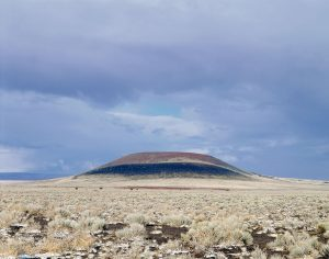 James Turrell, Roden Crater, exterior view (started in 1977, still ongoing), Flagstaff, AZ