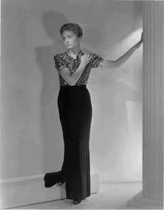 Dorothy Hood as a High Fashion Model