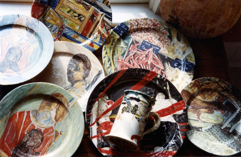 """Bonnard"" plates made by Parke in Vallauris"