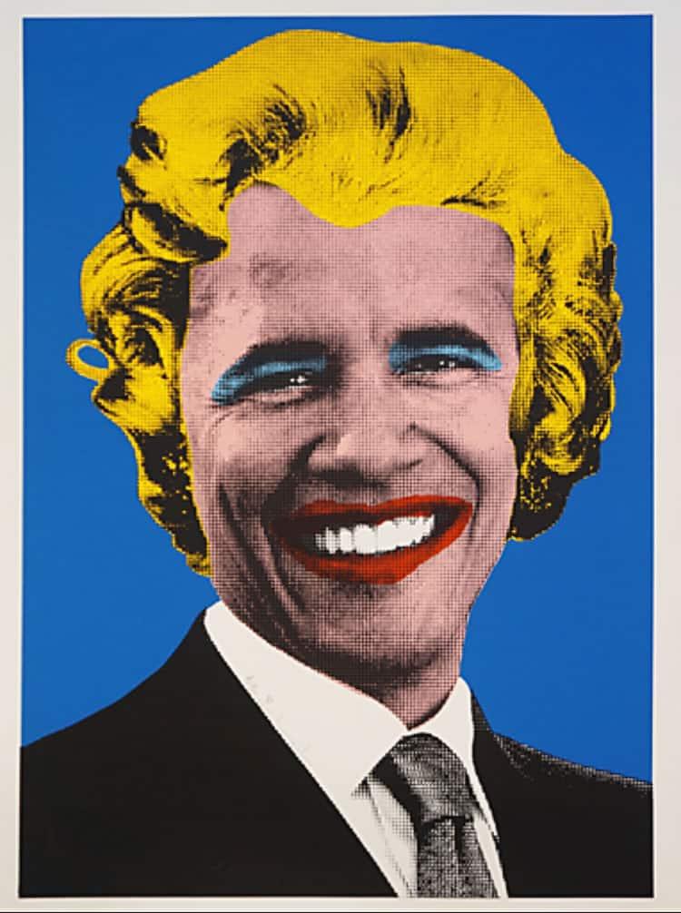 Mr. Brainwash's Obama/Marilyn (2008)