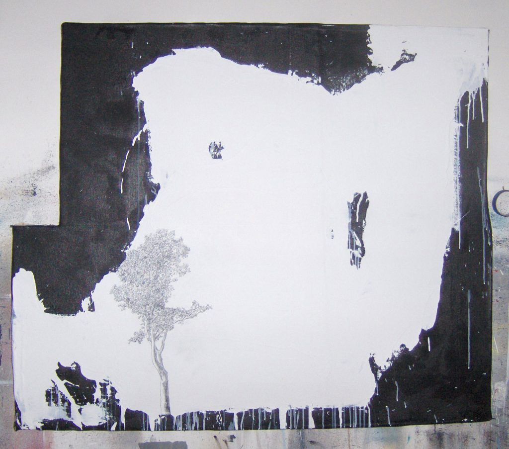 Fealty of Trees (2007), 66 by 72 inches