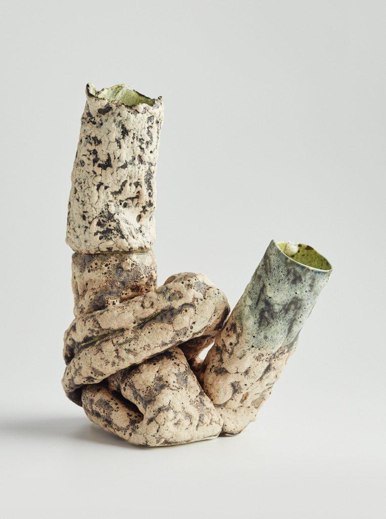 Twisted 13 (2016), glazed ceramic, dimensions