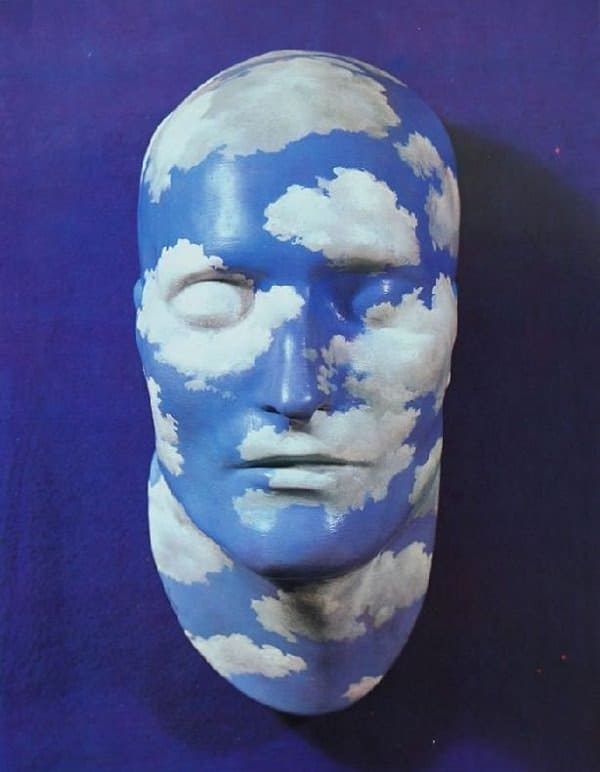 "rt director George Lois's collection included one of Rene Magritte's 1937 painted plaster ""death masks"" of Napoleon"
